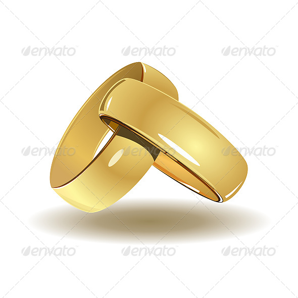 GraphicRiver Wedding Rings 6608692