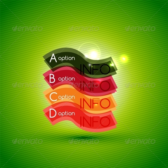 GraphicRiver Colorful Bright Light Shiny Option Banner 6608745