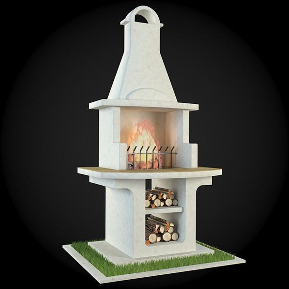 3DOcean Garden Fireplace 008 6609135