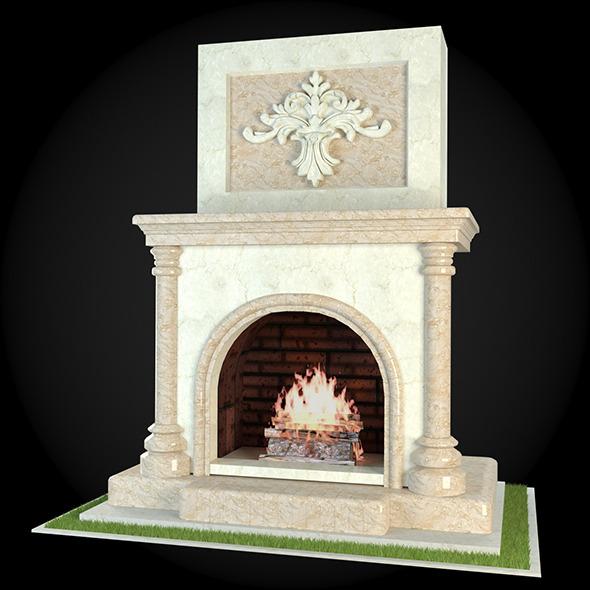 3DOcean Garden Fireplace 011 6609261