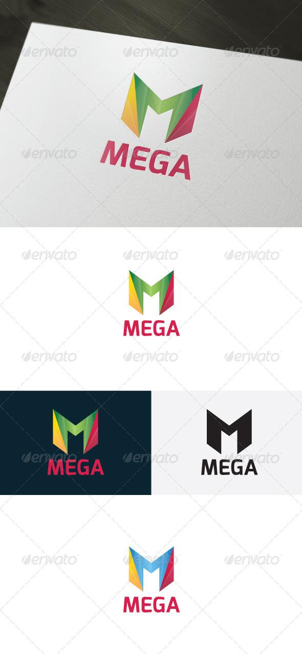 GraphicRiver Mega Logo Letter M 6607619