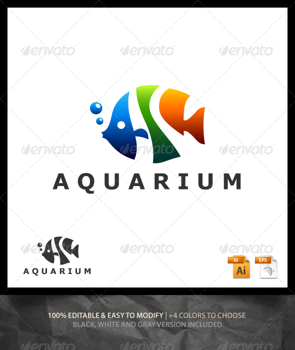 GraphicRiver Aquarium Logo 6610063