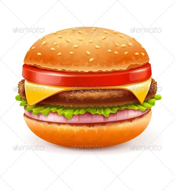 GraphicRiver Hamburger 6610079