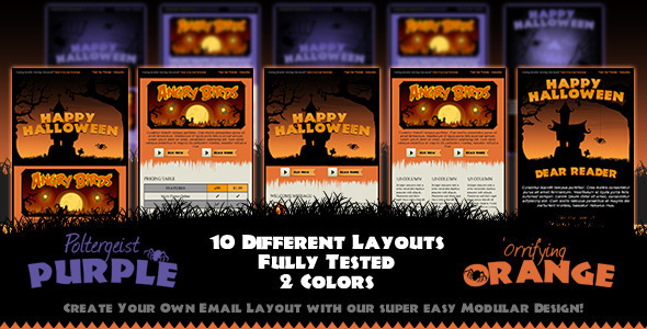 Hallowinning Email Template - Email Templates Marketing