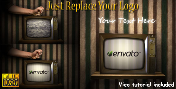 After Effects Project - VideoHive Old Broken TV 693961