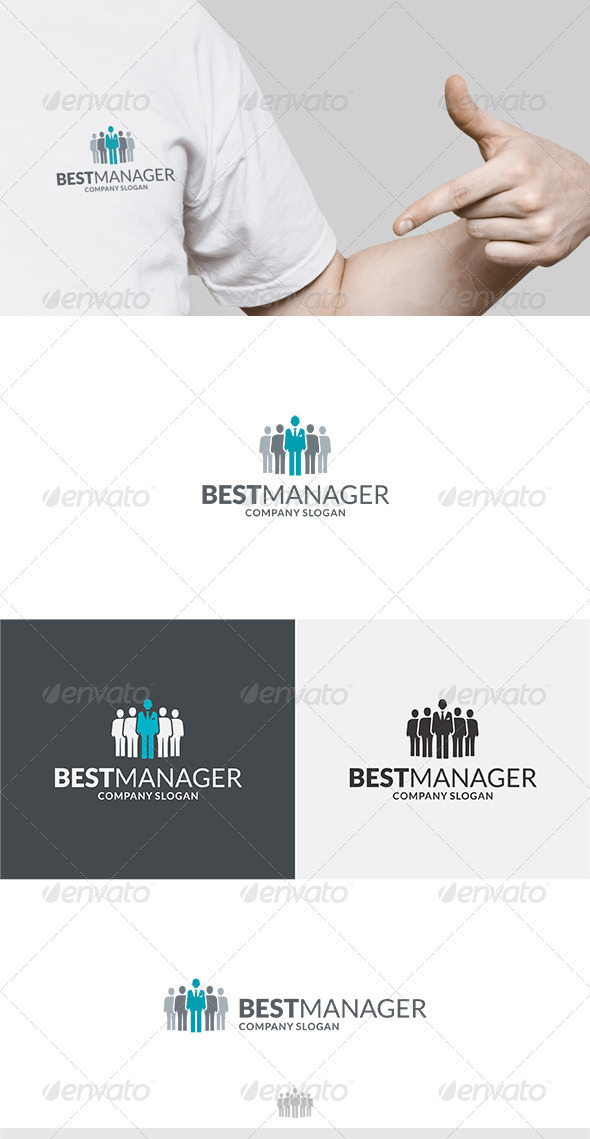 Best Manager Logo - Humans Logo Templates