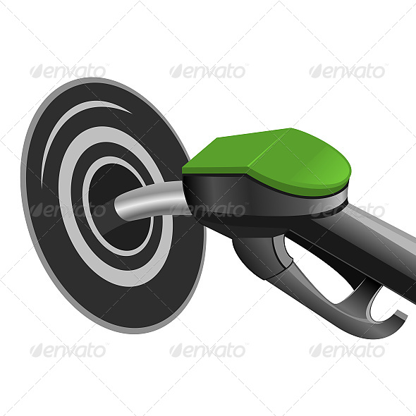 GraphicRiver Pumping Fuel into the Tank 6611193