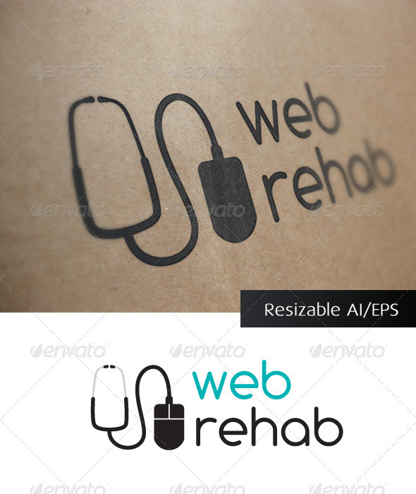 GraphicRiver Web Rehab IT Solutions Logo 694453