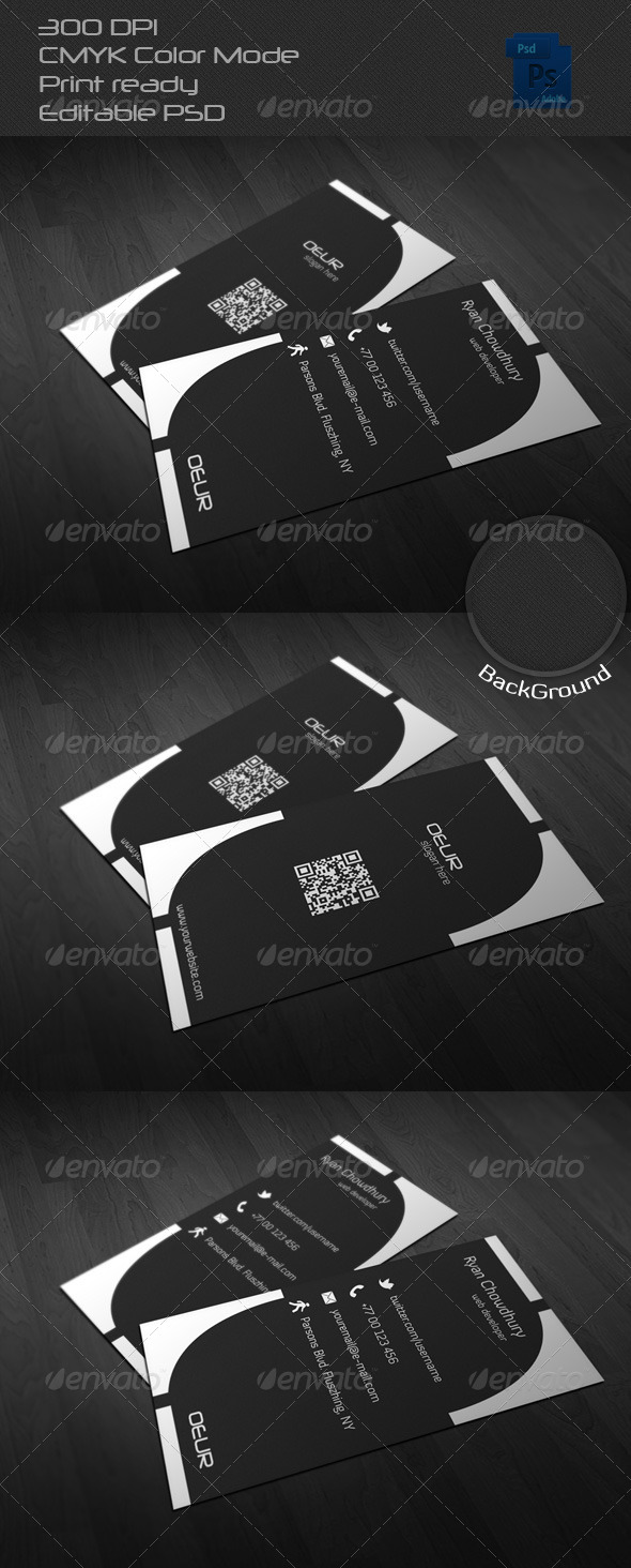 GraphicRiver Corporate Business Card 21 6604953