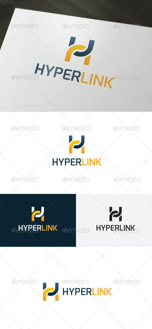 GraphicRiver Hyper Link Logo Letter H 6611861