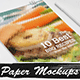 8 Clean & Contemporary Paper Mockups - GraphicRiver Item for Sale