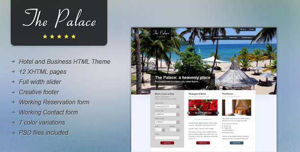 The Place - Hotel and Business HTML Theme