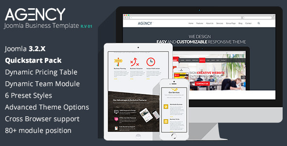 Agency -  Corporate Clean Joomla Template - Corporate Joomla