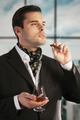 Man smoking cigar and drinking cognac - PhotoDune Item for Sale