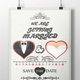 Valentine's Day Wedding Poster - GraphicRiver Item for Sale