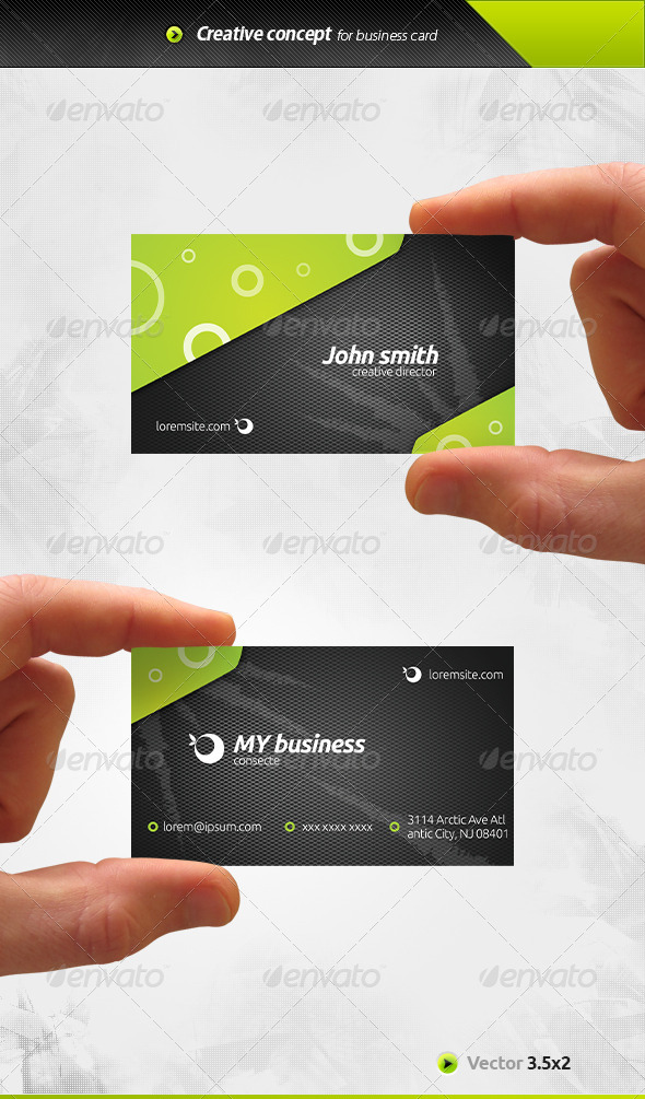 GraphicRiver Mesh Business Card 6617733