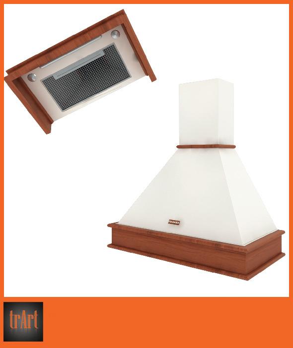 3DOcean Realistic kitchen hood 6617924