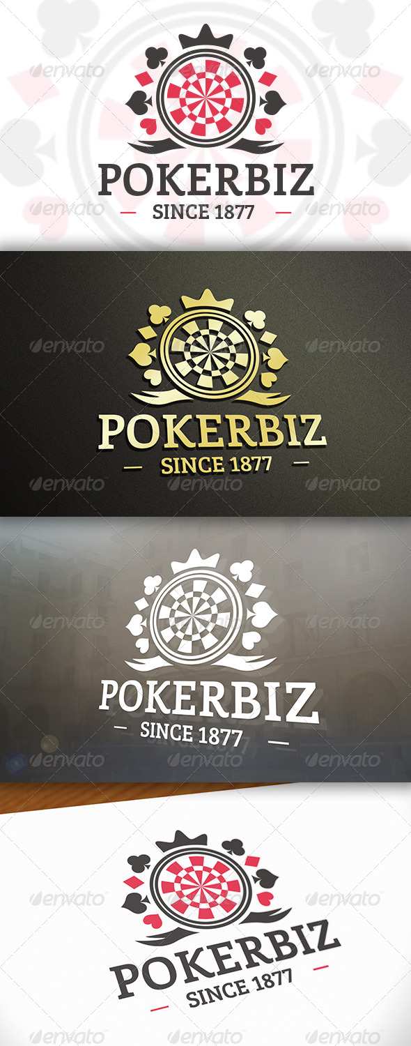 GraphicRiver Poker Logo 6618190