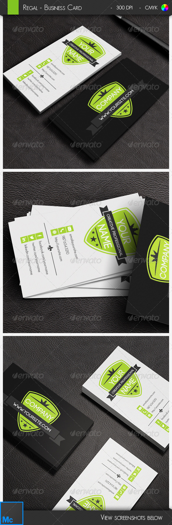 GraphicRiver Regal Business Card 6618305