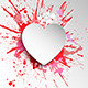 Grunge Heart Background - GraphicRiver Item for Sale