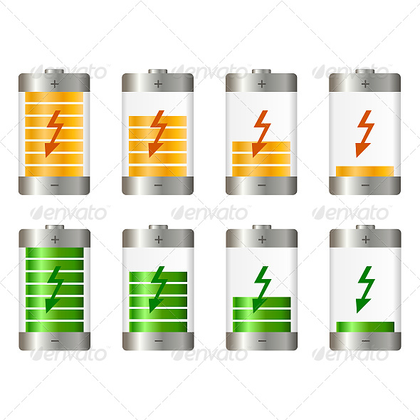GraphicRiver Battery Illustration 6618763