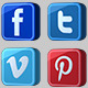 Social Media Icons Pack - VideoHive Item for Sale
