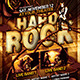 Hard Rock Flyer Template - GraphicRiver Item for Sale