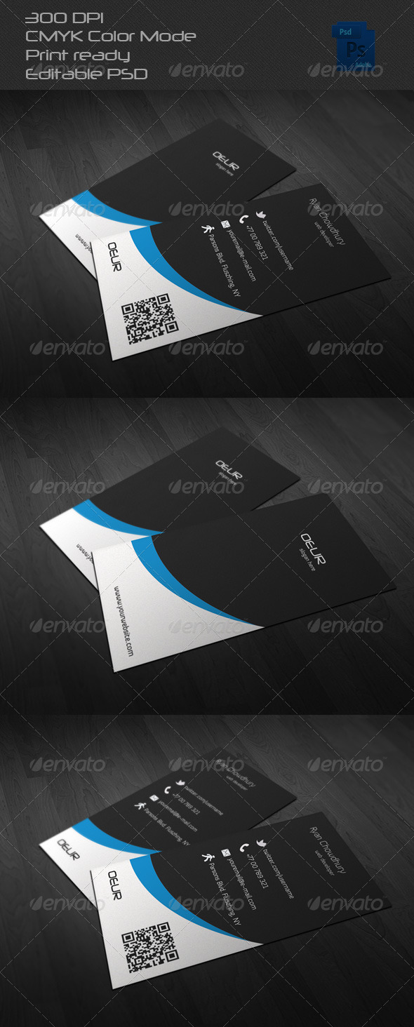 GraphicRiver Corporate Business Card 12 6619194