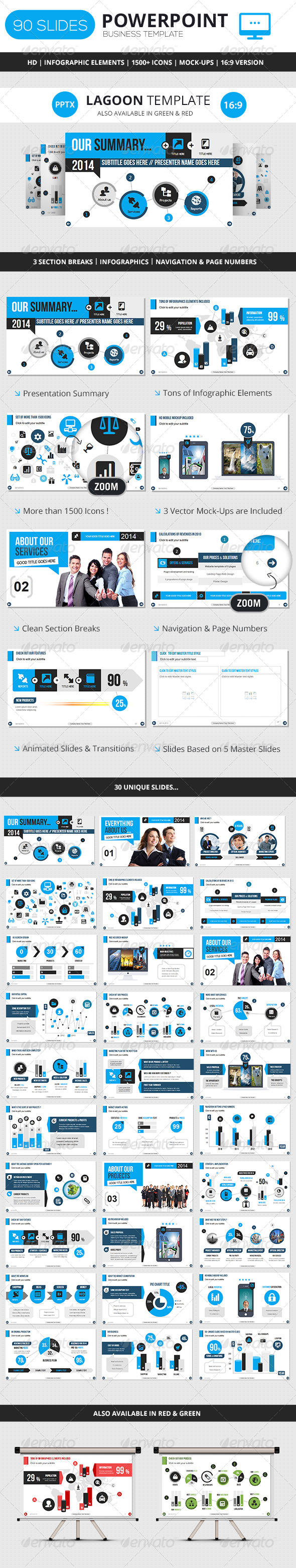 GraphicRiver PowerPoint Business Presentation Template 6619210