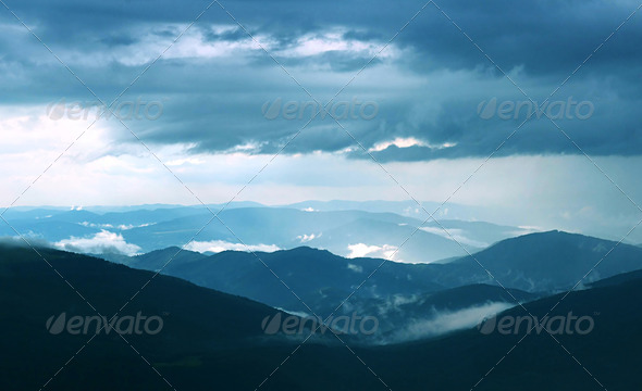Carpathian Mountains - Stock Photo - Images