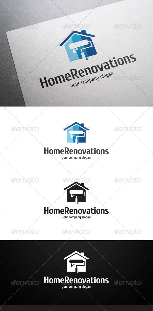 GraphicRiver Home Renovations Logo 6621531