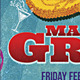 Mardi Gras Flyer 2 - GraphicRiver Item for Sale