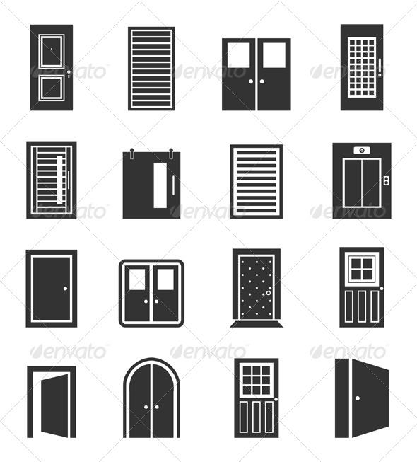 GraphicRiver Door Icons 6623206