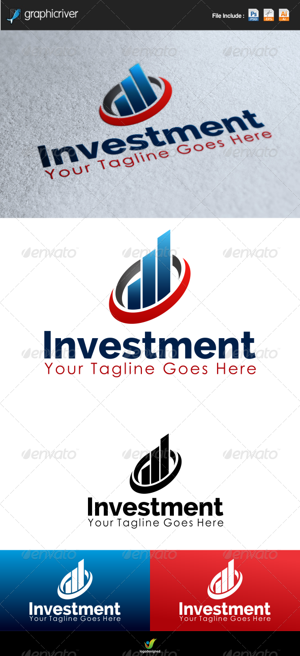 GraphicRiver Investment Logo Template 6623588