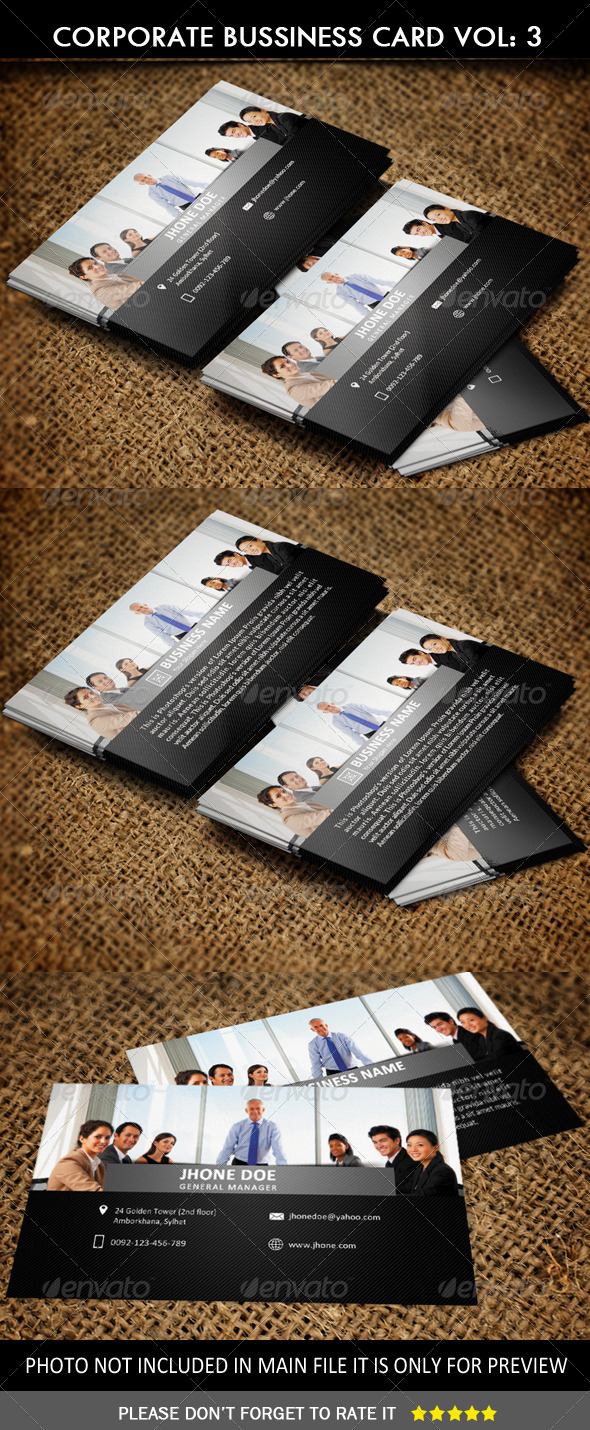 GraphicRiver Corporate Business Card Vol 3 6625317