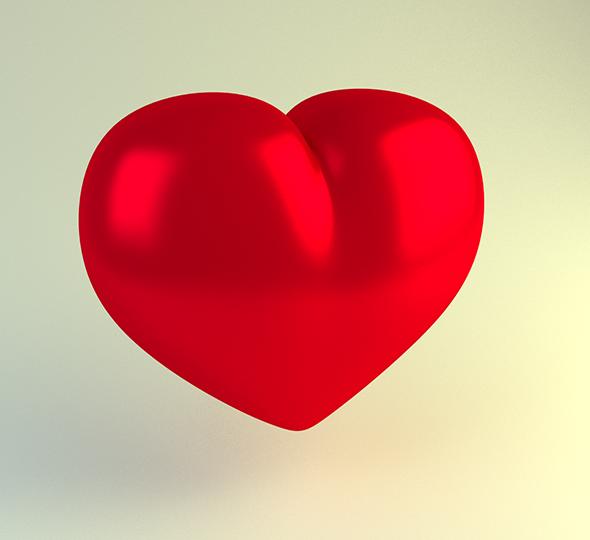 3DOcean Heart 6626371