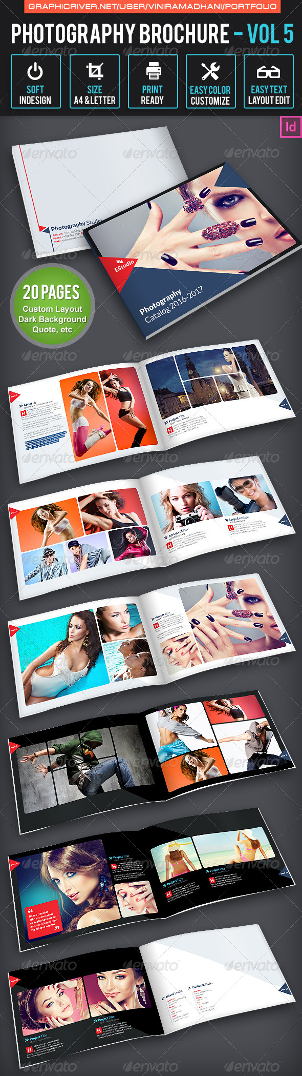 GraphicRiver Photography Brochure Volume 5 6627664