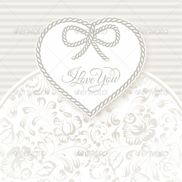 GraphicRiver I Love You Card 6628431