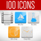 100 Animated Glossy Loop Icons - VideoHive Item for Sale
