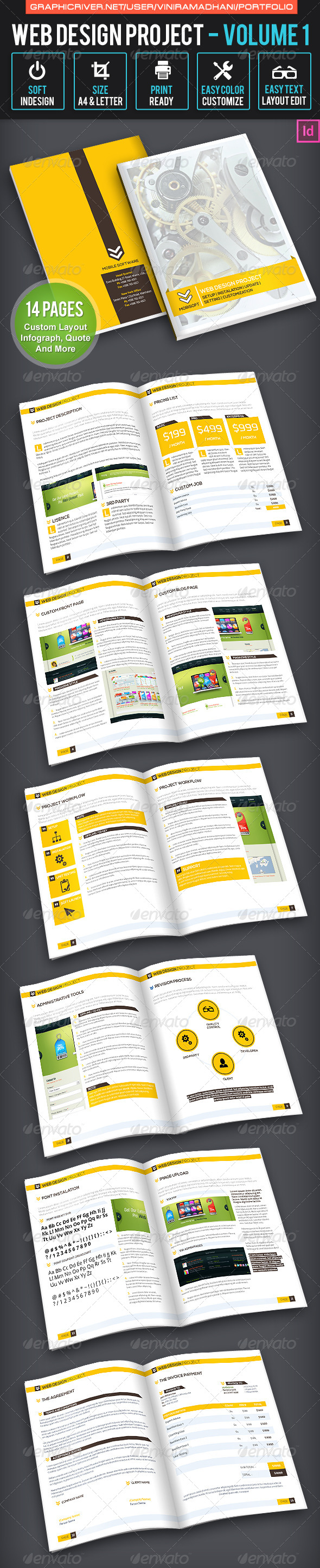 GraphicRiver Web Design Project Volume 1 6629187