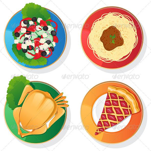 GraphicRiver Four Plates 6629262
