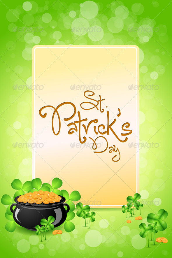 GraphicRiver Saint Patricks Day Card 6629817
