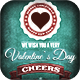 Valentine's Day Flyer/Poster Vintage Vol.1 - GraphicRiver Item for Sale
