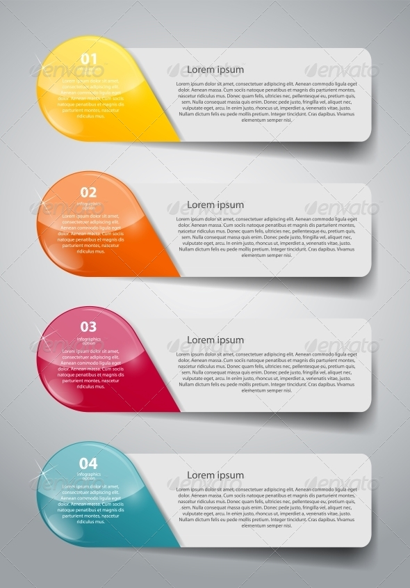 GraphicRiver Infographic Business Template Vector Illustration 6632218