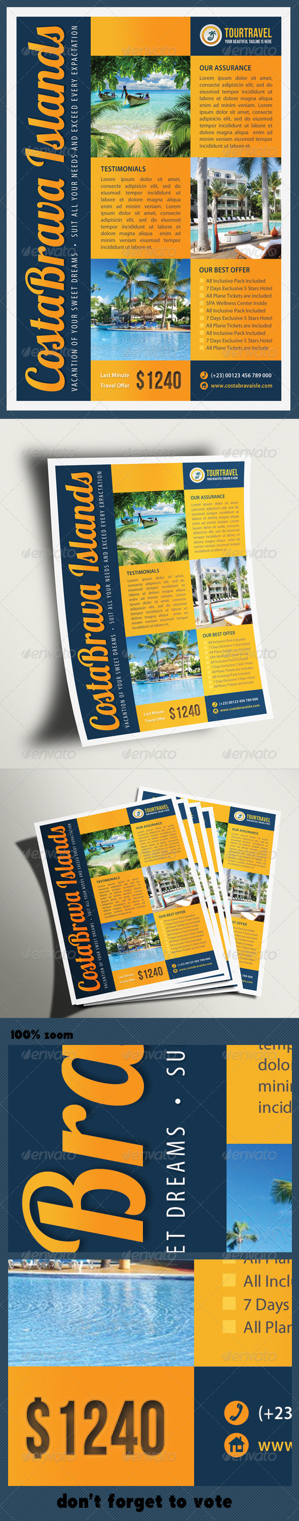 Travel Agency Corporate Flyer 04 - Holidays Events