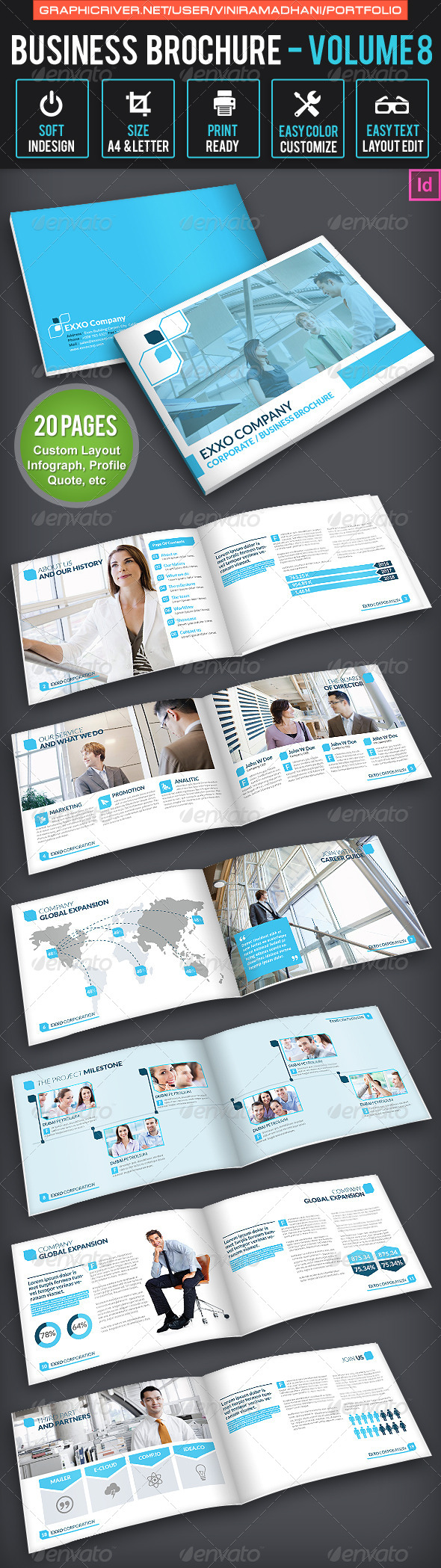 GraphicRiver Business Brochure Volume 8 6632650