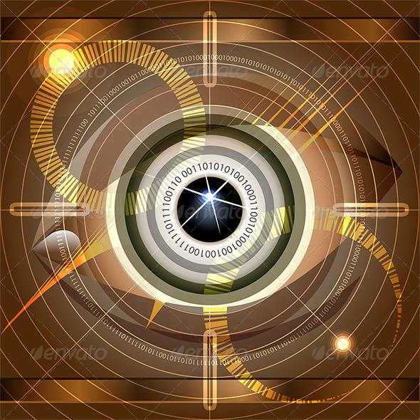 GraphicRiver Cyber Eye 6634011
