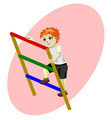 boy on stairs vector - PhotoDune Item for Sale