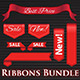 Ribbons and Banner Set - GraphicRiver Item for Sale