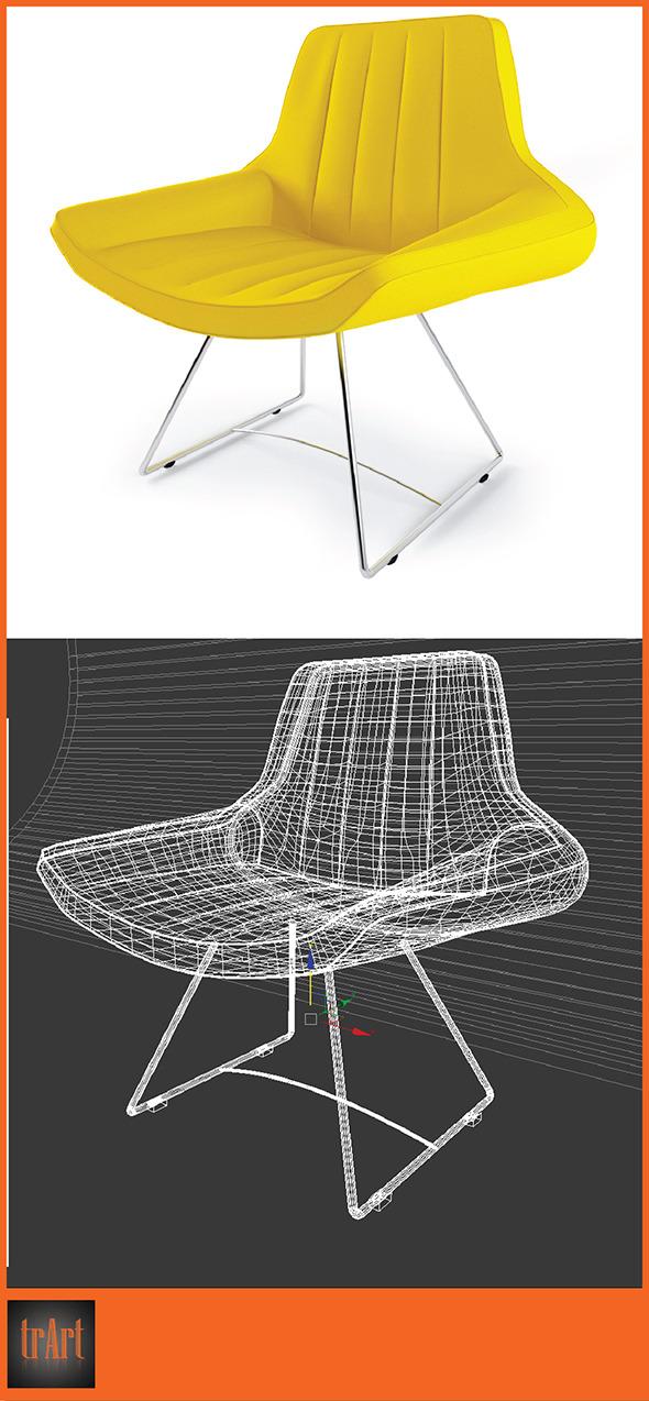 3DOcean Armchair 6634852